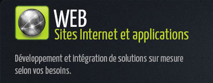 Sites Internet et applications Web